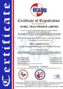 HI-REL TECH PRIVATE LIMITED 13485