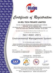 HI-REL TECH PRIVATE LIMITED 14