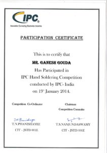 IPC Hand soldering- Ganesh